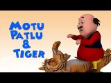 Motu And Patlu Attack Tiger Coloring page Youtube Channel For Kids
