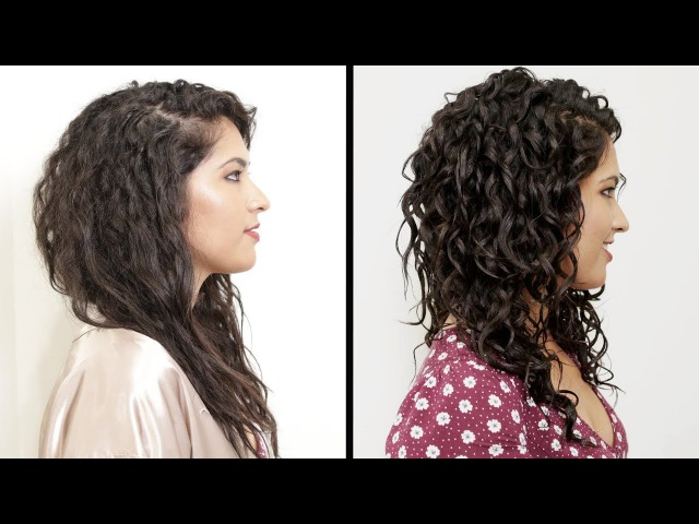 Women With Curly Hair Perfect Their Curls