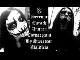 Seregor from Carach Angren Corpsepaint Tutorial
