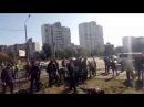 Скандальне АЗС на Ревуцького: Поліція застосувала силу проти активістів