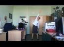 Разминка в офисе за 7 минут
