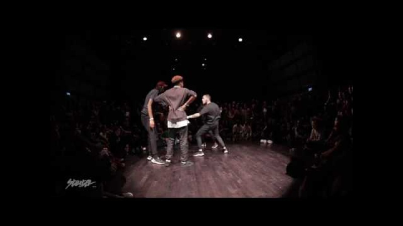 Waydi (Criminalz) Dypa vs Rubix (Criminalz) Kefton NBA Dance Battle at STRITER 2K17 - SEMI 1