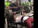 Ларри Уилс, жим лежа 185 кг на 15 раз