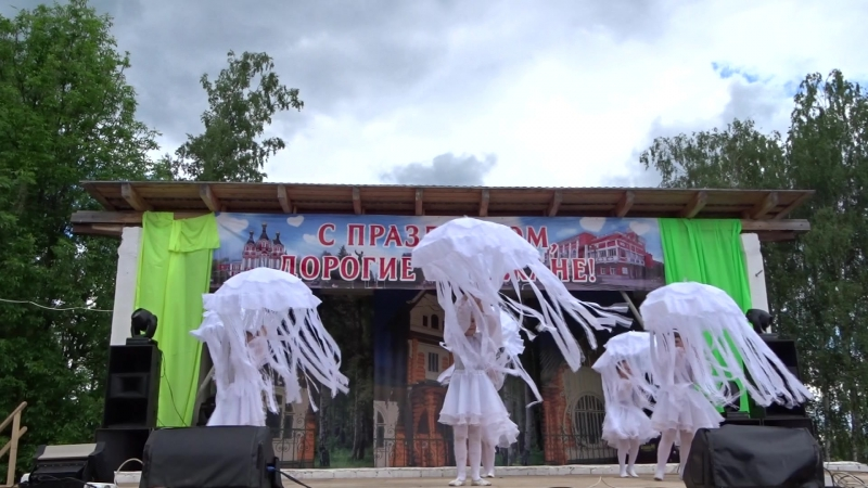 Танец медуз - выступление воспитанников д/с №20 Непоседы