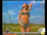 Молодая Наталия Орейро в рекламе купальников