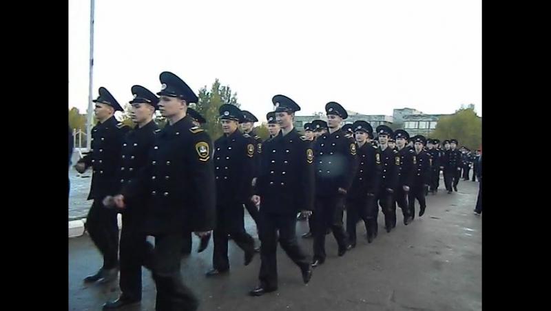 Посвящённые в курсанты Макаровки 7.10.2017