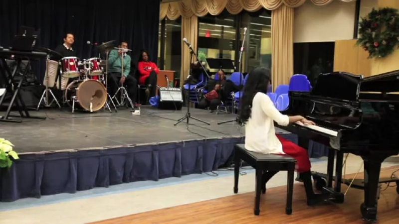 Rock A Beatin Boogie by Bill Haley, played by Mayuri S. @ Sunnybrook Hospital V
