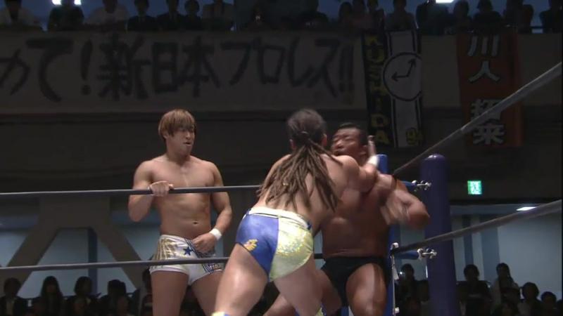 Hiroshi Tanahashi, Togi Makabe, Katsuya Kitamura vs. Kota Ibushi, Juice Robinson, David Finlay (NJPW - Road to Power Struggle) (