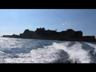 007 SkyFall the REAL Battleship Island Gunkanjima 軍艦島 rare film