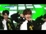 [PERF.] 170428 Выступление второй команды с Be Mine – Infinite - EP.4 Produce 101 @ Mnet Official