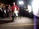 Собака танцы сальса!