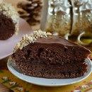 Быстрый шоколадный тортик в мультиварке