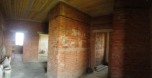 Ремонт коттеджа 250 м2,фото ремонта коридора