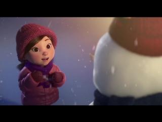Лили и Снеговик - чудесная рождественская история