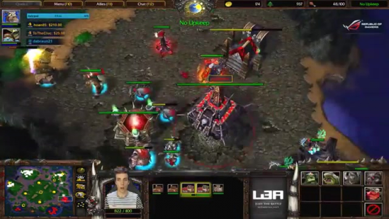 Grubby ¦ Warcraft 3 The Frozen Throne ¦ Orc vs