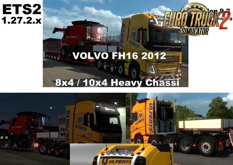 Volvo FH 2012 8×4 and 10×4 V9.3