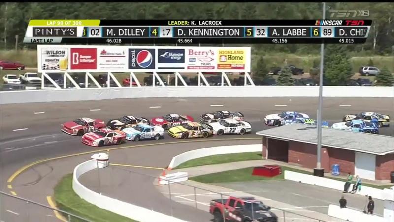 NASCAR Pinty's 2017. Этап 10 - Риверсайд