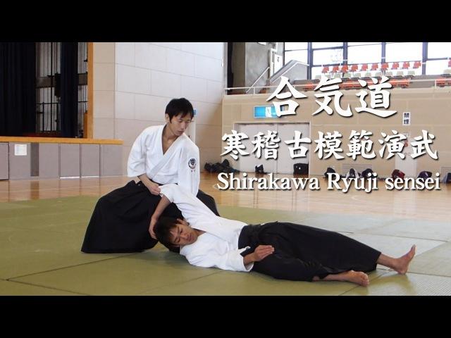 合気道‐寒稽古模範演武 白川竜次先生 Aikido Shirakawa Ryuji sensei