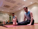 Хатха йога. Вечерний сет для снятия напряжение.