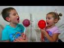 Chupa Chups Гигантская конфета 1 кг Кушаем конфетные какашки динозавров и свистим Сум...