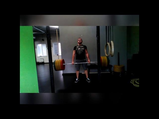Становая тяга 180кг классика. Deadlift 180kg classic