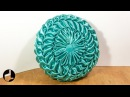 Round Smocked Pillow Tutorial: Make Your Vintage Cushion