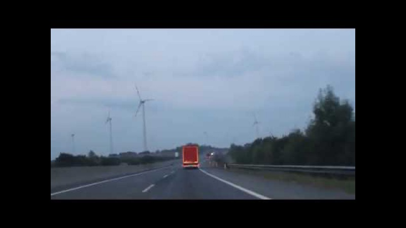 Вітрові електростанції зблизька, Австрія-Відень (Austria,Wien)