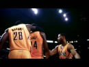 Paul George's Ferocious Dunk on Birdman in Game 2! (Vine)