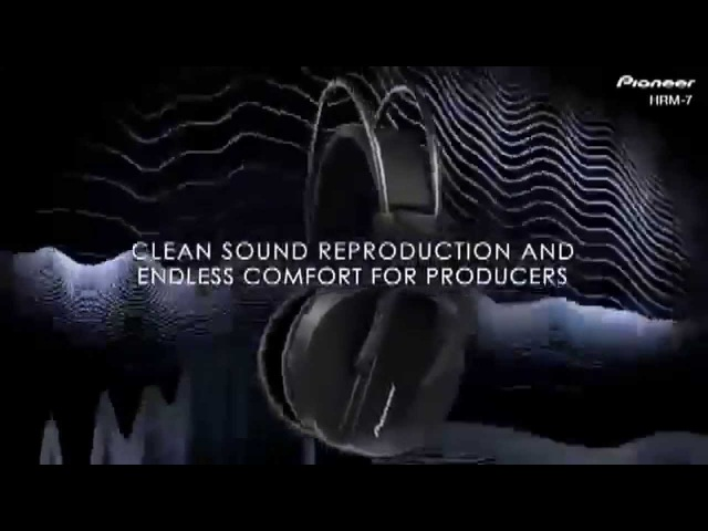 Обзор наушников HRM-7 от Pioneer DJ (Миралайт)