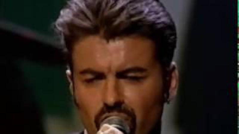 George Michael The Long Winding Road Faith - Royal Albert Hall 10th April 1999