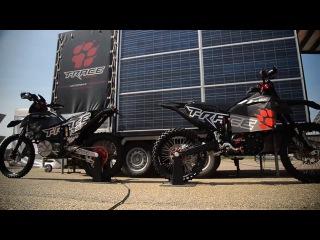 TACITA T-RACE electric CROSS vs ENDURO - in Zolder Belgium  @ E-MX Race of Champions