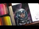 Портрет карандашами / Astro Girl - Time-lapse drawing