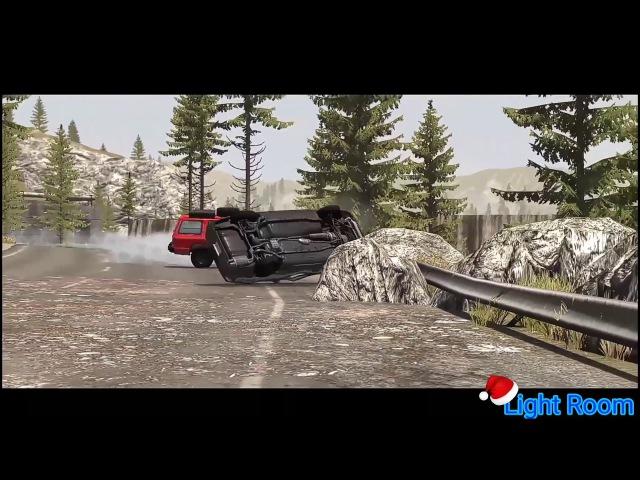 Лучшие аварии Beam ng drive || 1