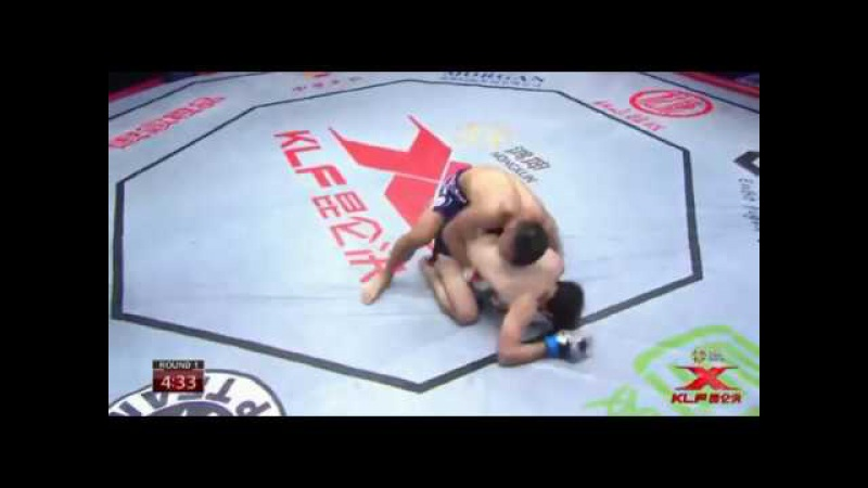 Yinna Bao CHINA vs Rizvan Mirzabekov RUSSIA Kunlun Cage Fight series 6 10 21