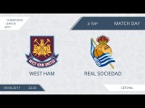 AFL17. Champions League. Group D. Day 3. West Ham - Real Sociedad