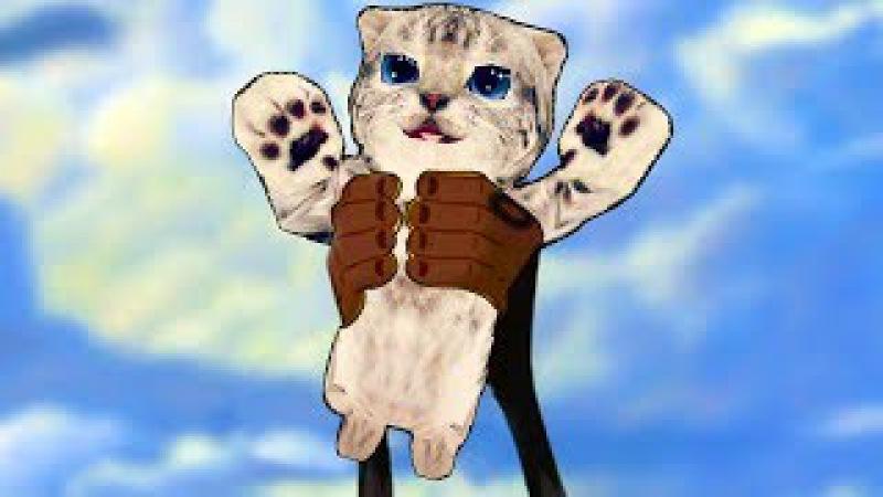 СИМУЛЯТОР Маленького КОТЕНКА 11 приключение мульт героев кошек котов веселое ви...