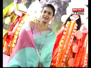 Kajol & Shaan Serve Bhog To All The Devotees Of Maa Durga