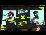 WILOW ( FRA) VS LUCY FUNK (COL)-RIO H2K BATTLES =LOCKING IFINAL 2K17