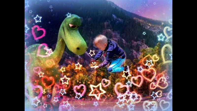 Динозавр вылупляется из яйца GROWING PET HATCH'EM Dinosaur Egg / LENNDO