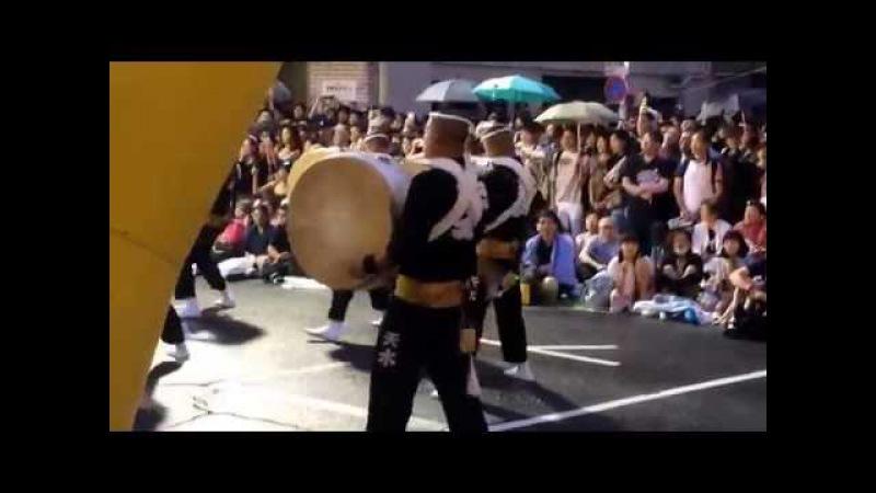 東京天水連 高円寺 阿波踊り 2016 8/28 Japan Awa Odori Festival