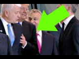 Trump SHOVES  aside NATO PM Dusko Markovic OUT OF HIS WAY 5/25/2017