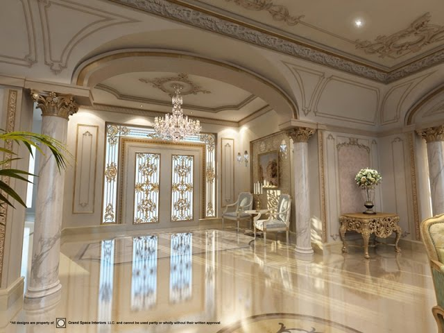 Luxurious Palaces & Villas in Dubai and around the world -Interior Design Company in Dubai -Classic