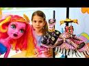 #Одевалки МОНСТЕР ХАЙ 👗 ГУЛИОПА ДЖЕЛЛИНГТОН в Магазине Одежды 👠 #Мультик Куклы...