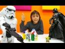 Erkekçocukvideoları Emir Star Wars askerlerle karşı savaş yapıyor çizgifilmoyuncakları