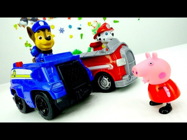 Türkçeizle. Paw Patrol Peppa Pig ve ailesini depremden kurtariyorlar.çocuklariçinvideo