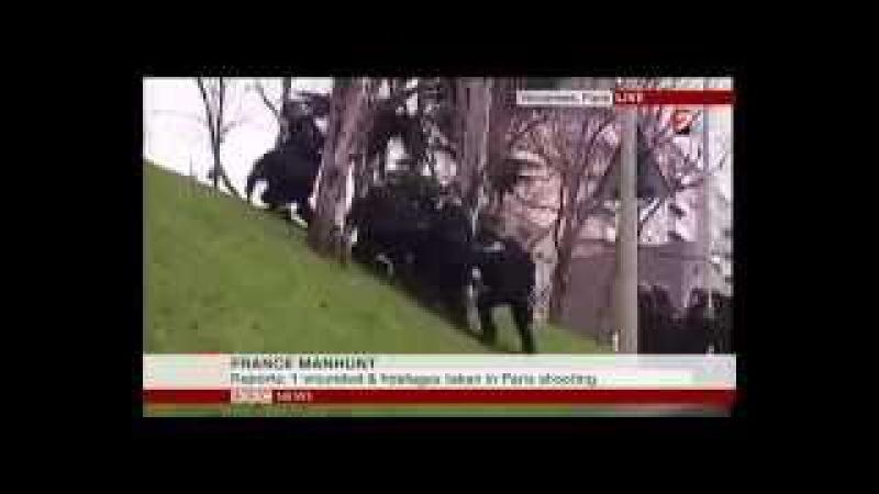 Французский спецназ «Лентач» штурмует горку
