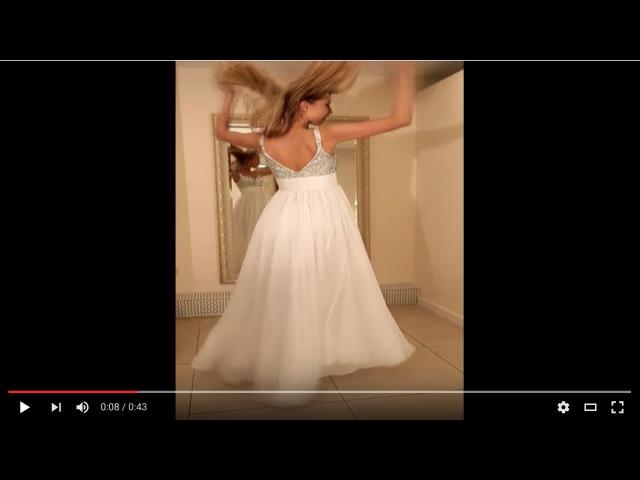 После фотосессии: модель танцует! | Бэкстейдж фотосъемки | Backstage video