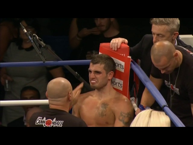 Liam Cameron vs Sam Sheedy HD (Including Post Fight Interview)