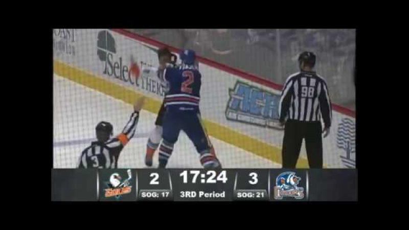 Mark Fraser vs Stu Bickel Dec 6, 2016