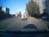 Красиво ушел от ДТП Оренбург ул. Туркестанская